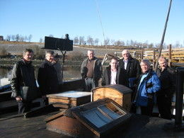 Invest-ordførere og representanter fra Stiklestad Nasjonale kultursenter på Pauline Foto: Kåre Bjerkan_260x195