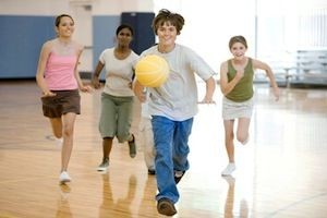 Ungdom som løper