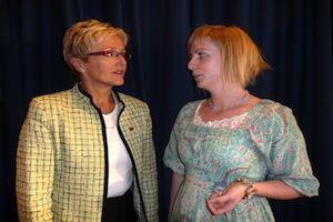 Liv Signe Navarsete og Ida Stuberg