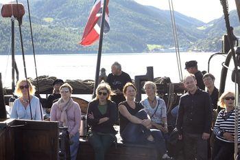 Båttur med Jekta Pauline til Skarnsundet
