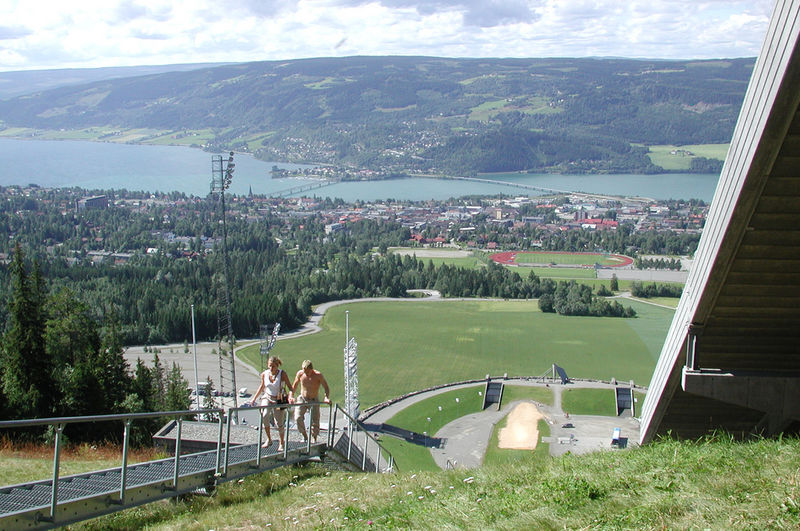 Lillehammer_sommerbilde_Lysgårdsbakken