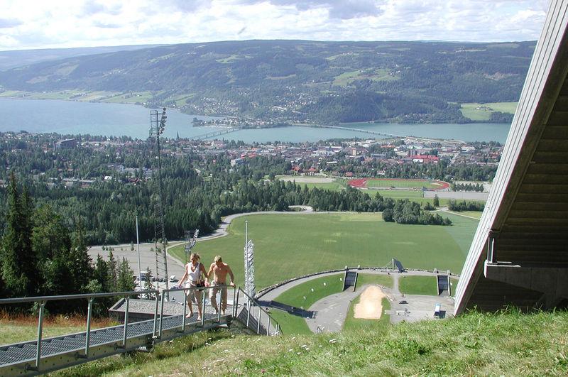 Lillehammer_sommerbilde_ Lysgårdsbakken
