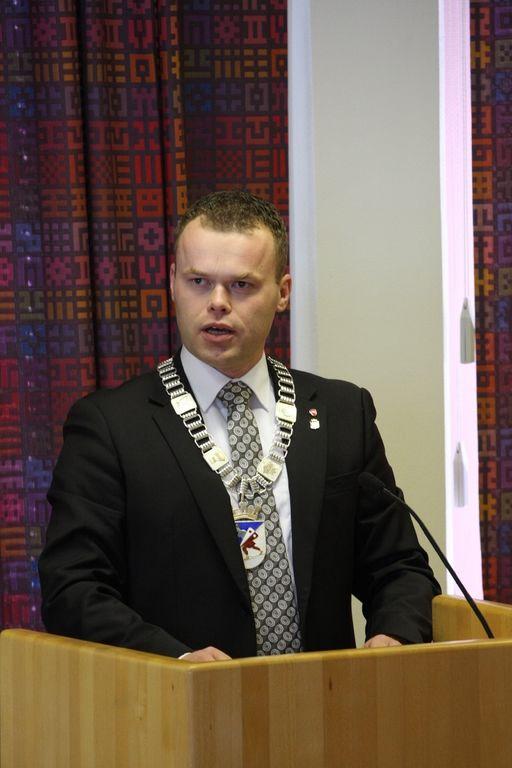Espen Granberg Johnsen ordfører