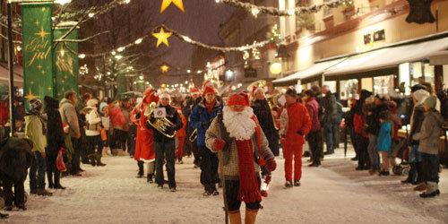 Julegate, Lillehammer sentrum