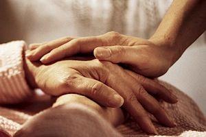 Trøstende hender