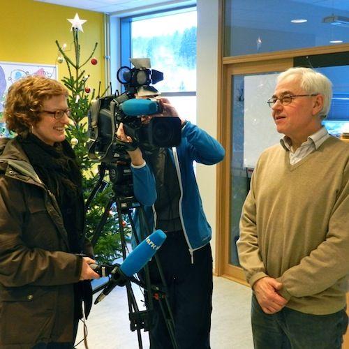 Lars Daling intervjuet av NRK