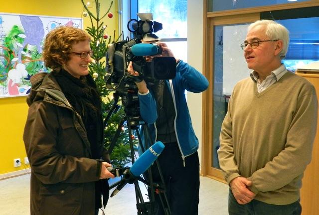 Kommunalsjef samfunn Lars Daling intervjuet av nrk