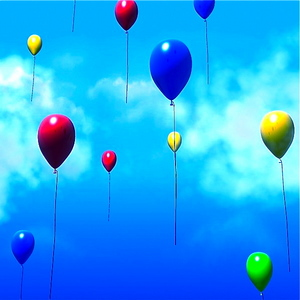 Flyvende ballonger
