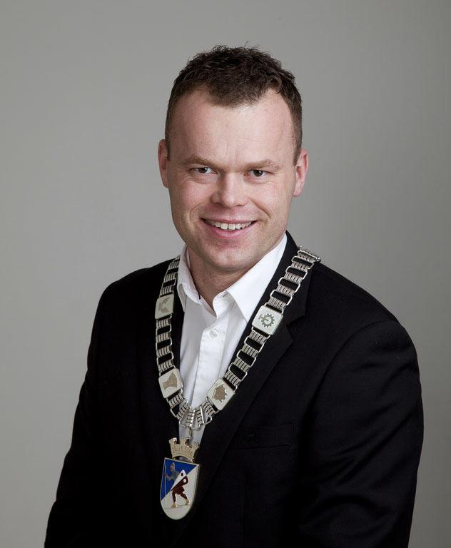 Ordfører Espen Granberg Johnsen. Foto: Kirsti Hovde.