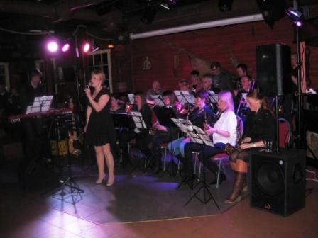 Skjervøy Musikklag - voksenkorpset, fredag den 20. april 2012