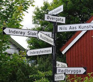 Adresser i Inderøy