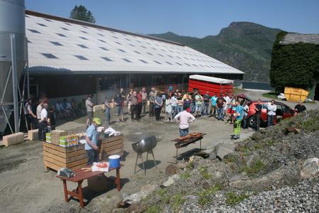 Open fjos 2012 - Prestegård