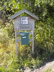 Vegnavnskilt og adressenummer til alle i Inderøy kommune