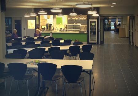 Fine kantinelokaler i Inderøy rådhus