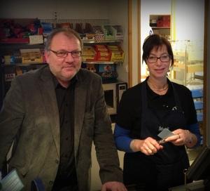 Baard Aarnes og Marit Skogset Franssen
