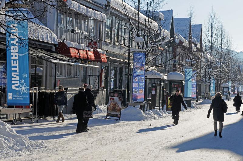 Lillehammer sentrum. Foto: Esben Haakenstad