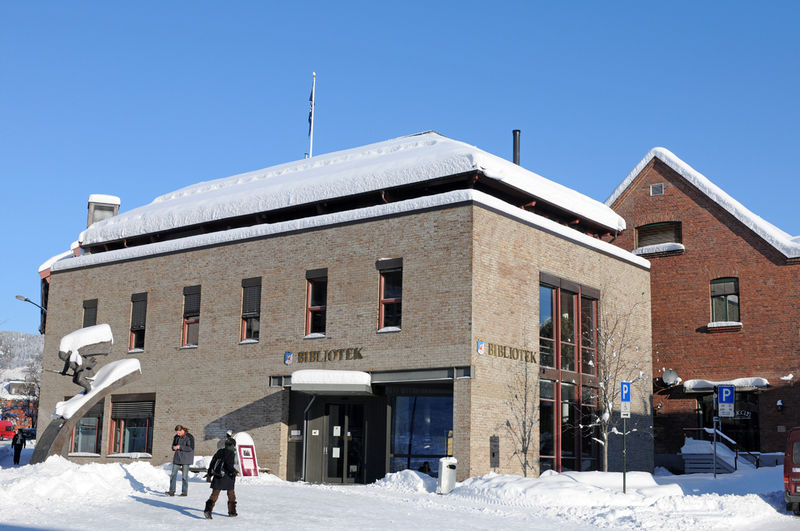 Lillehammer bibliotek. Foto: Esben Haakenstad