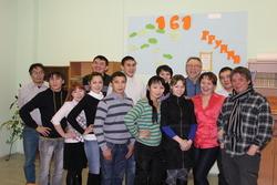 Участники проекта вместе с норвежскими тренерами Б.Стуре-Якобсеном и Х.Ёхансеном