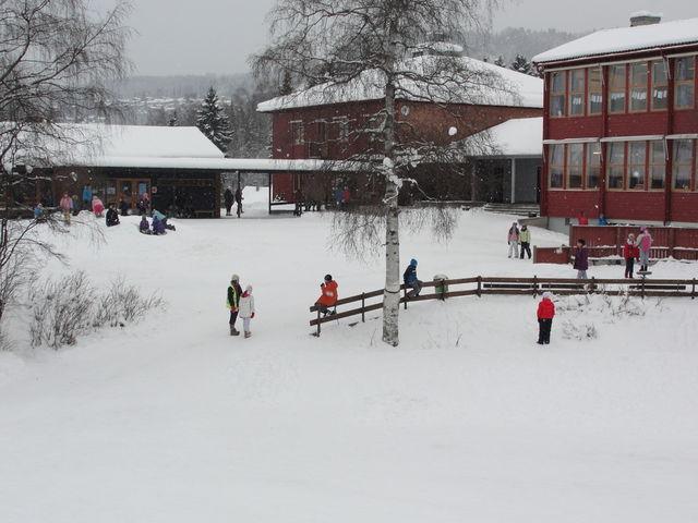 Søre Ål skole vinter