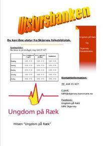 Plakat Utstyrsbank
