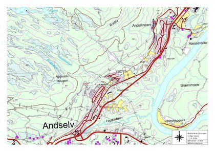 Oversiktskart Bardufossområdet