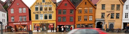 Bil i Bergen