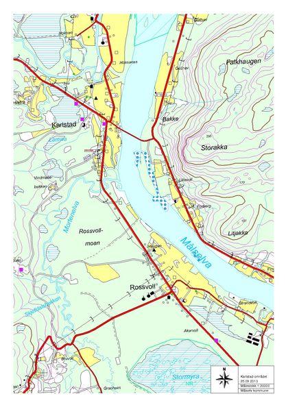Oversiktskart Karlstadområdet