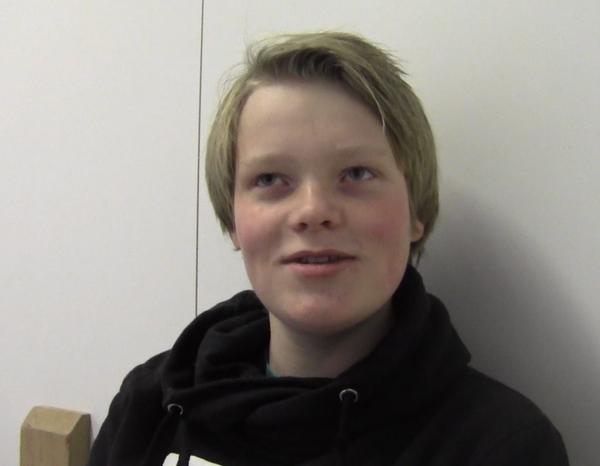 """Intervju med Patrick på gruppa """"Media og dokumentasjon"""" under internasjonal uke 2013"""