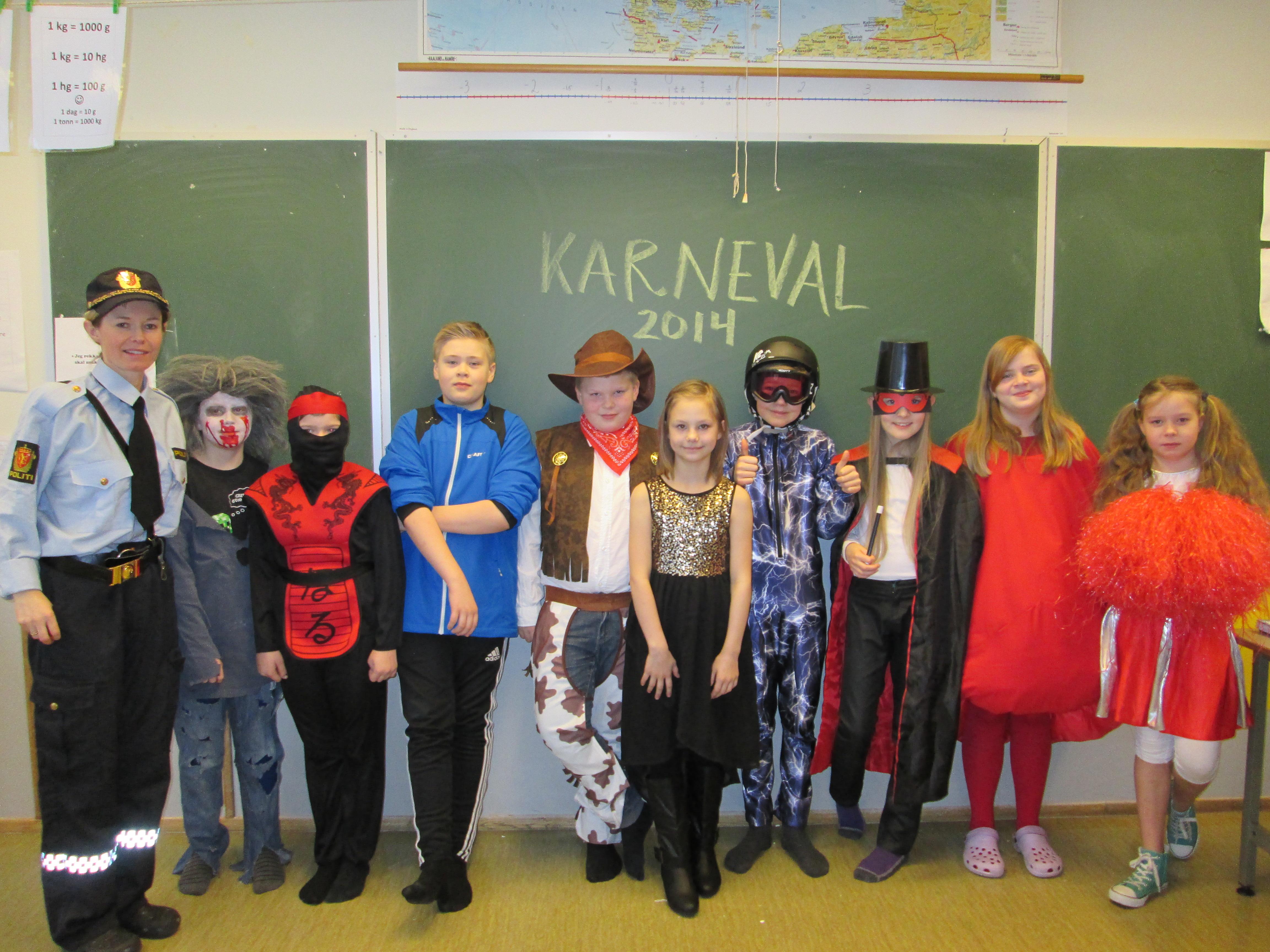 karneval kostyme voksen
