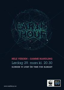 Plakat Earth Hour