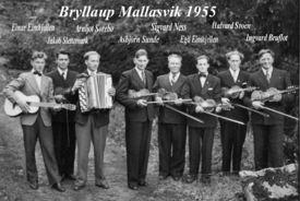 03  Spelemannslaget 1955 i Mallasvik