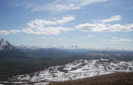 Utsikt fra Høgpynten mot Istind