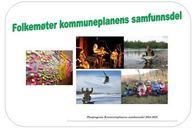 Invitasjon til folkemøter kommuneplanens samfunnsdel