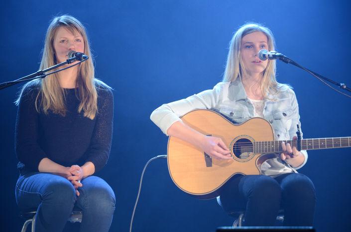 Jenny og Julie Skagen - Foto Inderøyningen