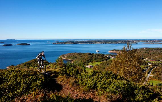 Sykkeltur på Julsundfjella nett