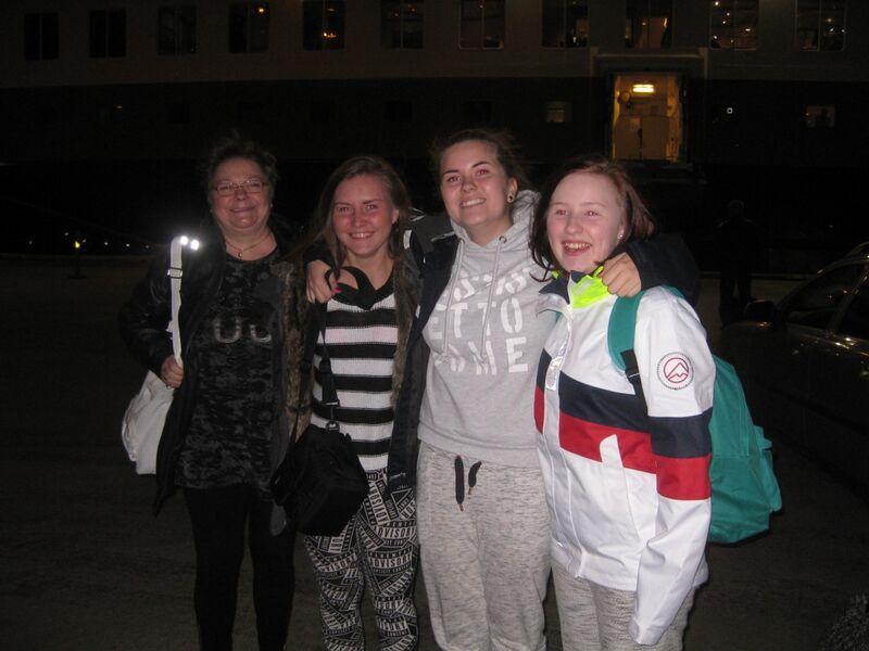 4 ungdommer klare for Solovkitur