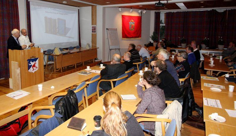 Frokostmøte om økt bruk av tre i Lillehammerregionen.