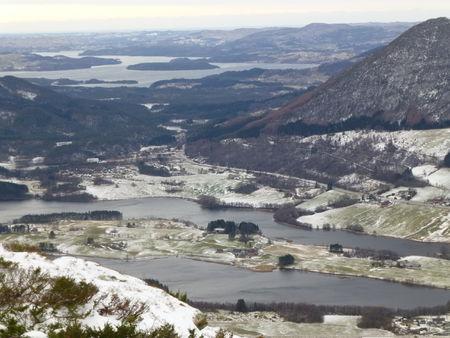 Landa- og Vatsvatnet, Skjoldafjorden