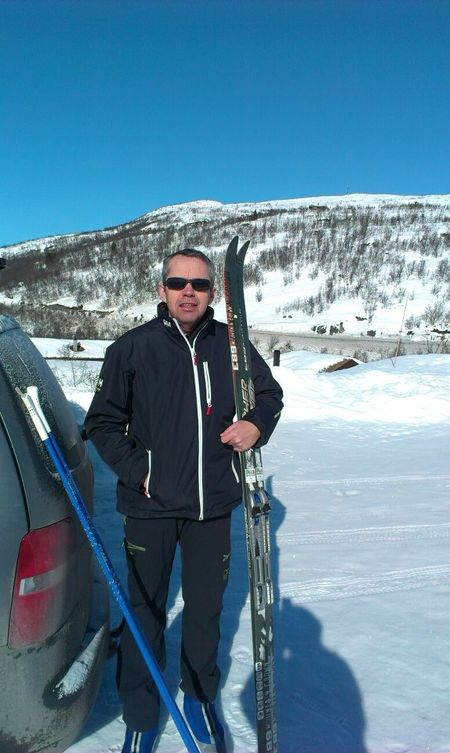 Sørheim Sigve på ski