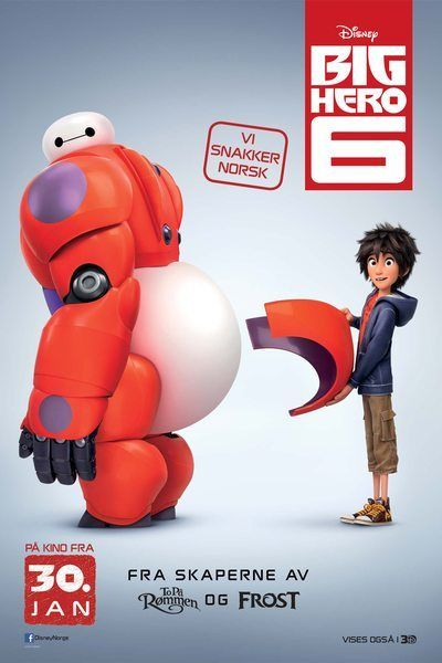 Big Hero 6 plakat