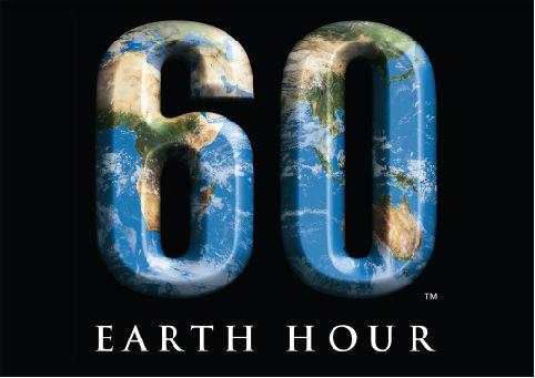Earth hour logo