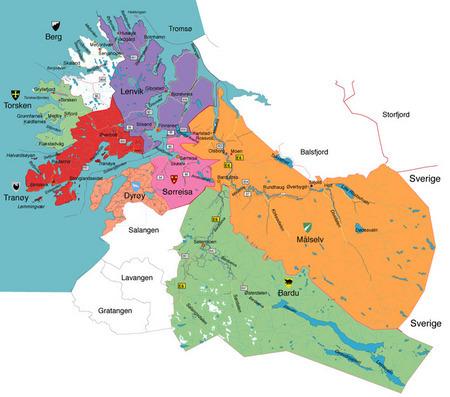 lavangen kart Folkemøter om kommunereformen   Målselv kommune lavangen kart