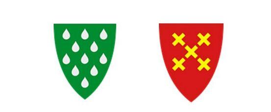 Bykle og valle kommunevåpen