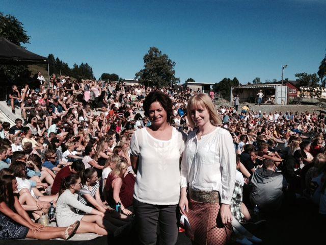 Åpning av Inderøy ungdomsskole 19