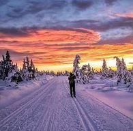 Folkehelse- på ski