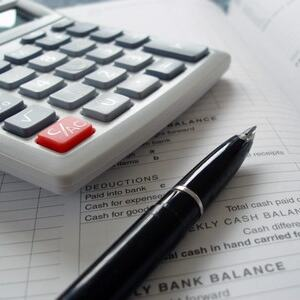 budsjett, kalkulator