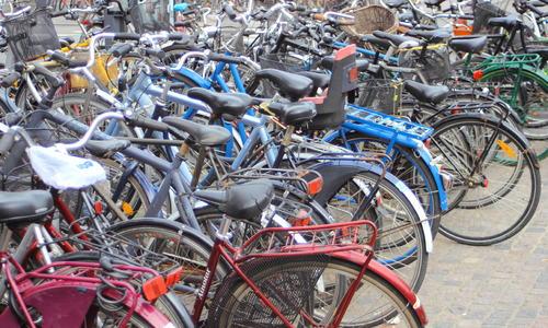 helserelatert adferd. Sykkelparkering.