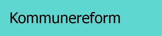 Kommunereform logo