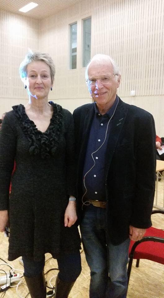Jam Spurkeland og Randi Tessem