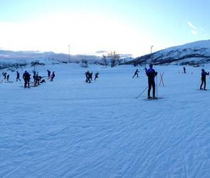 trening skistadion